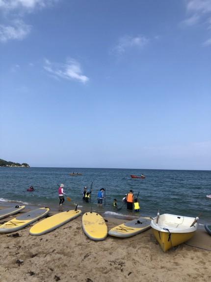 島根おおだ健康ビューロー「第1回琴ヶ浜うき浮きフェスタ開催!」