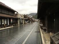 津和野の町並み写真