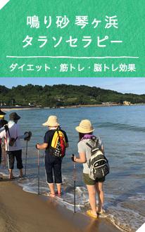 鳴り砂 琴ヶ浜 タラソセラピー